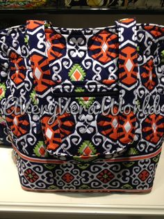 """A Very Vera World: Vera Bradley Summer 2013 Preview--LOVE this color """"Sun Valley"""""""