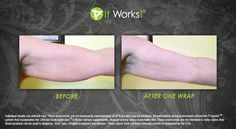 Want to get rid of that extra flappy skin under your arms? Tighten, tone, and firm them up with a It Works wrap!!  http://wraplikecrazy.myitworks.com
