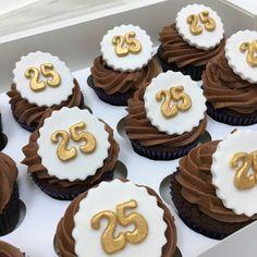 Luxury Birthday or Anniversary Number Cupcakes - Minimum order 12 Cupcakes 12 Cupcakes, Dublin, Ireland, Bakery, Anniversary, Number, Luxury, Birthday