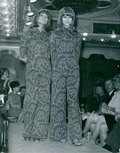Katja of Sweden fashion show, 1966
