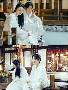 Behind the scene moon lovers...baekhyun z.hera...