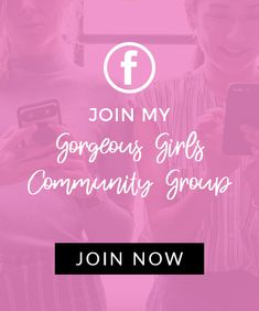 Join Angela Lanter's Gorgeous Girls Community Group on Facebook
