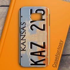 Supernatural License Plate Samsung Galaxy S6 Edge Case | casefantasy