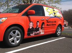 Listen to 98Q? Look at this sharp car we wrapped!