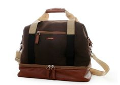 Great gym bag or overnight travel bag Love the separate shoe compartment!