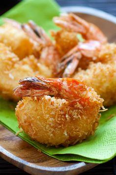 Coconut ShrimpReally nice recipes. Every hour.Show me what you  Mein Blog: Alles rund um Genuss & Geschmack  Kochen Backen Braten Vorspeisen Mains & Desserts!