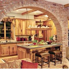 Arch for dining room (wide)