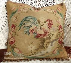 French Country Aubusson Pillow