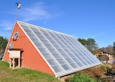 """YMCA Solar Greenhouse Heats Up in Virginia - The Greenhouse in Blacksburg """"uses a novel way to store energy collected from the sun: a subterranean heat sink of soil, rocks and water beneath its interior planting beds. This system is called the Subterranean Heating and Cooling System (SHCS), and it collects solar energy and stores it for use when the sun is not shining. """""""