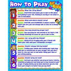 Teaching your kids how to pray! Start by letting them hear you pray!
