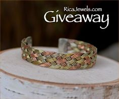 Jewelry #Giveaway! Enter to #win beautiful bracelet of choice from @ricajewelsca by 11:59pm EST on April 10, 2015.