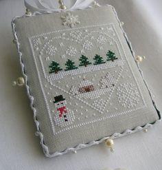 cross-stitch ornament