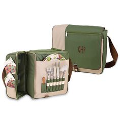 Picnic-For-Two Cooler Tote I want this