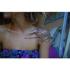 Pretty, dainty tattoos :) - Polyvore