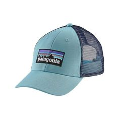 0bed14ef5c7 Patagonia P6 LoPro Trucker Hat ( 29) ❤ liked on Polyvore featuring  accessories