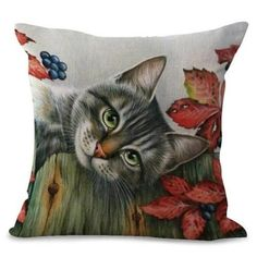 Browse unique cat-themed gifts for cat lovers or buy something special just for you. Choose from a wide range of mugs, clothing, jewellery, bags, home decor & more. Cat Lover Gifts, Cat Gifts, Cat Lovers, Cat Cushion, Cushion Covers, Blueberry Tree, Cushions On Sofa, Throw Pillows, Cat Themed Gifts