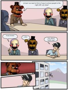Five Nights at Freddy's 2 Bad Idea!<< makes me laugh every time!