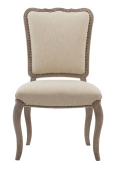 351-541A Auberge Side Chair | Bernhardt W 23 D 28.5 H 39.5 SH 19 SD 22 Assigned Fabric B929 $862.50 Other fabrics available $1015.00