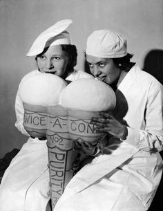 Ice Cream Show, London, 1934