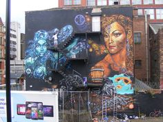 4 elements Manchester muralby ~n4t4