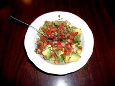 Pico de Gallo from Las Delicias in Memphis, TN. If you haven't had this guacamole mix, you're really missing out.