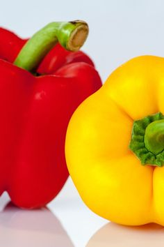 Photo of Red and Yellow Pepper