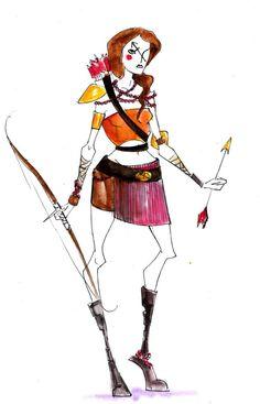Sagittarius warrior