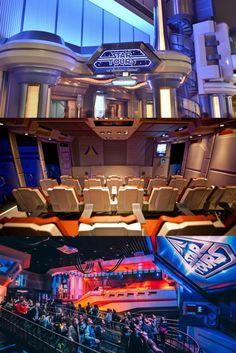 Disneyland Star Tours Ride 0109