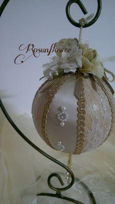 Pallina decorativa pallina di Natale pallina di Rosunflower