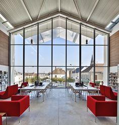 Galeria de Centro Cultural Auneau / Architecture Patrick Mauger - 2