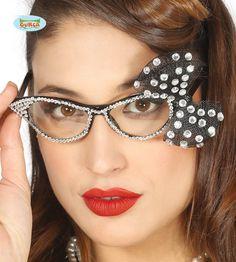 50-luvun+Naisten+lasit,+Timanteilla+ja+pitsikoristeella Rock N Roll, Cat Eye, Eyes, Glasses, Eyewear, Eyeglasses, Rock And Roll, Eye Glasses, Sunglasses