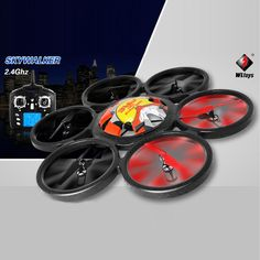 Wltoys V323 2.4GHz 4CH 6 Axis Gyro RC Quadcopter RTF Headless Mode - US$121.99