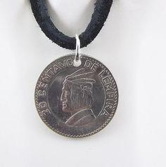 Honduras coin necklace - https://www.etsy.com/listing/240496731/honduras-coin-necklace-20-centavos-coin