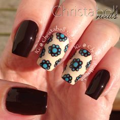 ChristabellNails Dotted Nails Tutorial -- A Quickie