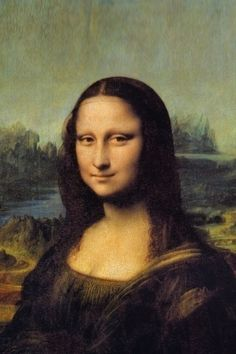 mona lisa painting - HD iPhone Wallpapers Store