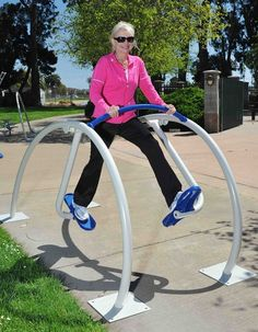 Xccent air stride, exercise equipment, outdoor fitness equipment #fitness…