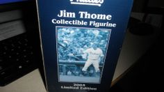 jim thome collectible figurine phillies 2005 lim.  ED.