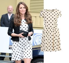 Kate Middleton Topshop Polka Dot. The Kate Middleton Effect: the 5 frocks that broke the internet. Check out more at Mamamia.com.au.