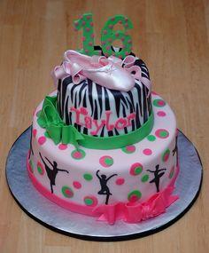 dance cakes for birthdays Dance Party Birthday, Sweet 16 Birthday Cake, 8th Birthday, Birthday Ideas, Birthday Cakes, Cake Cookies, Cupcake Cakes, Cupcakes, Dance Cakes