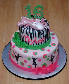 dance cakes for birthdays | Photoset 93,246 of 235,772