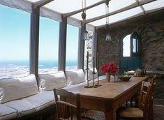 Las Cositas de Beach & eau: LA CASA DE DEBORAH FRENCH Y VANGELIS TSANGARIS en GRECIA....una delicia para los sentidos...................