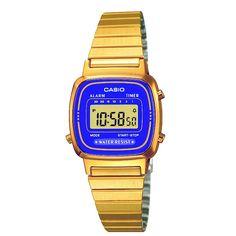 Casio Dress LA670WEGA-6EF Women watch (best price) | http://www.kish.nl/Dress-LA670WEGA-6EF/