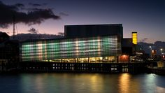 Voyager NZ Maritime Museum, Auckland - A project by Pete Bossley Architects