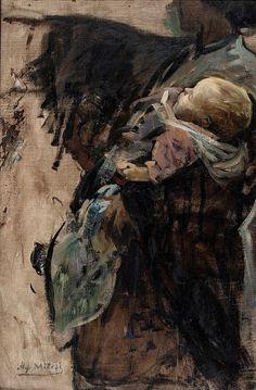 Alessandro Milesi Italian Painters, Painting, Artworks, Pastel, Portraits, Inspire, Impressionism, Cake, Painting Art