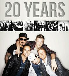 Backstreet Boys 20 years :-)
