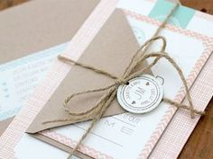 """Love the small details, """"tag"""" and twine"""