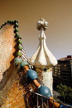 Sergio Occhiuzzo- On the roof of Batllò house (Gaudì)