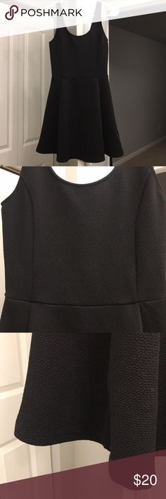 NWOT H&M black skater dress Perfect. No flaws. Beautiful and flattering cut. Stretchy material. Stunning design. Divided Dresses