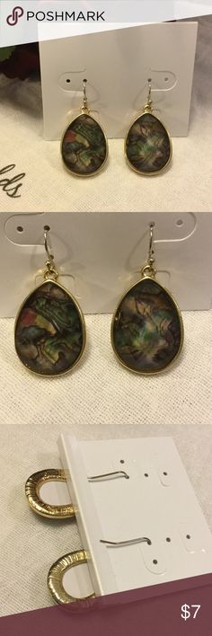 """Rainbow dangle earrings New New with tag..measures 1 1/2"""" drop Charming Charlie Jewelry Earrings"""