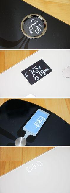 체중계 디스플레이